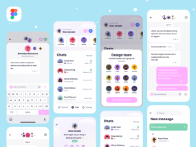 Clean Chat App UI
