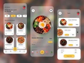 Foods Mobile App Transparent version