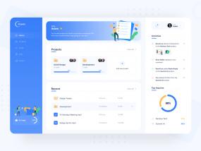 Projekt Dashboard - Projects Management