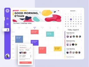 Meeting Schedule Dashboard