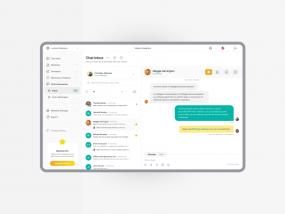 Visitor Analytics - Analytics Application - Chat Inbox Design📨