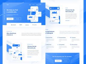 Job Finder - Landing Page