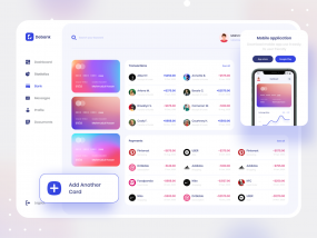 Debank | Bank Dashboard Design