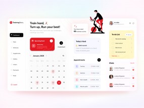 Fitness Trainer Dashboard