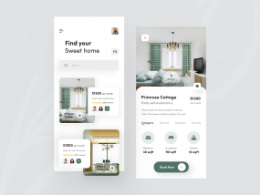 Real Estate : Rental App Concept 🏘️