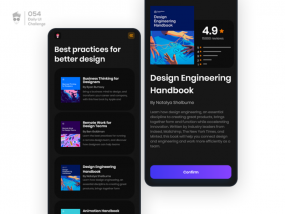 Confirmation | Daily UI Challenge 054