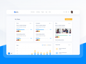 Task Management - Quick Website UI Kit
