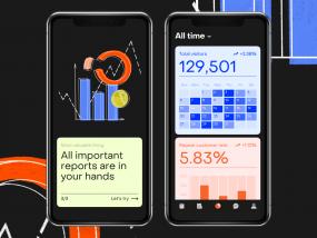 Business analytics app