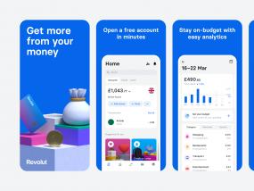 Revolut App Store Screenshots 2.0