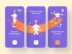 Finance Onboarding - Mobile App