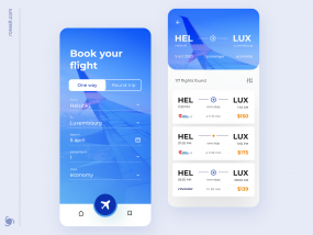 Ticket Booking App Design Concept