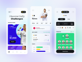 Football manager mobile app