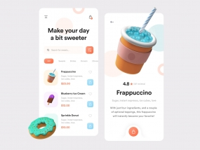 Sweetooth App - UI Design