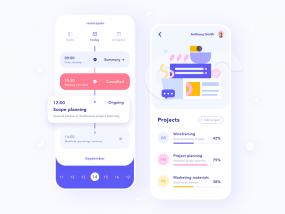 Remote Work – Planner App