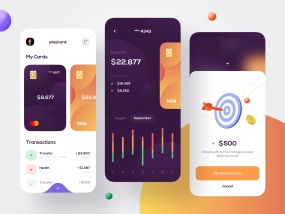 Mobile bank - Mobile Design