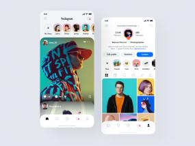 Instagram Redesign 2020