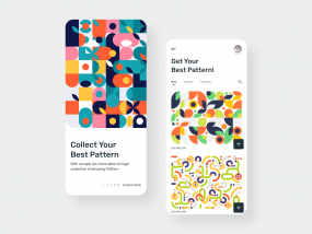Pattern App Screens