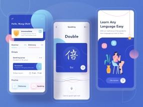 Odading App - Learning Mobile App Design 📖