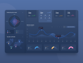 Dashboard UI practice