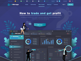 How It Works Page for ArBitrage Crypto Trading Platform