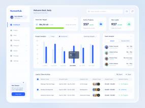 HumanHub - Dashboard & Payroll - Web App