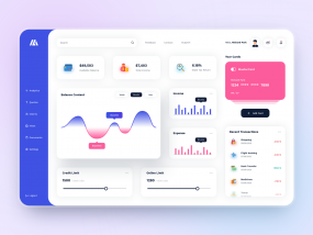 Banking Dashboard Design