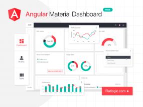 Angular Material Dashboard