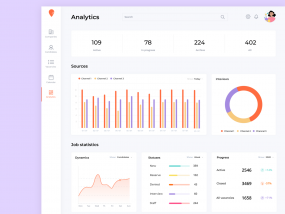 Dashboard for Nuwork