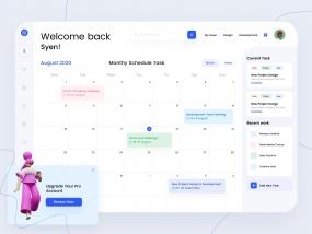 Task Management Dashboard Concept