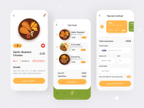 Food Order Mobile App UI