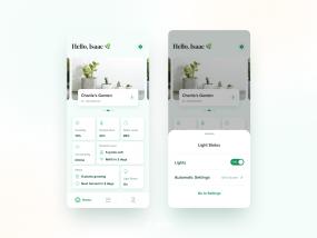 Dashboard Screens for Aepod