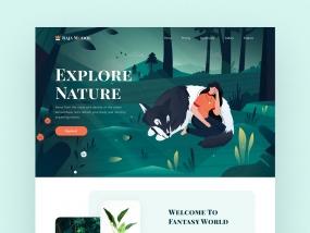 Rajamodol landing page