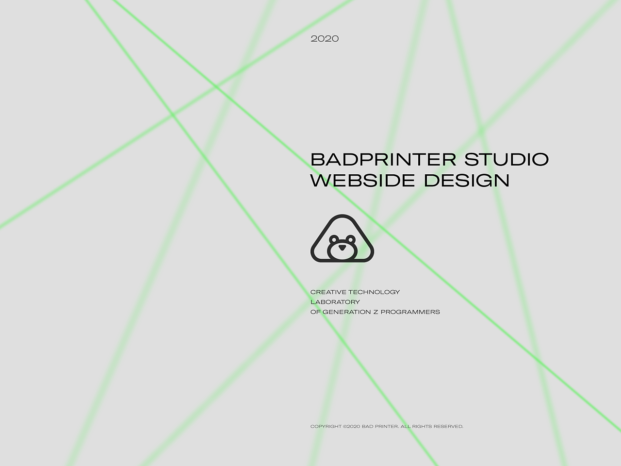 坏打印机 Studio 官网|BadPrinter Studio Website