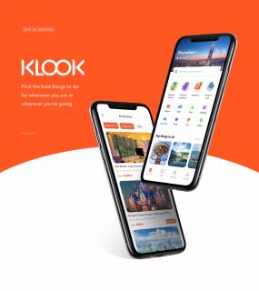 Klook Travel UI Design